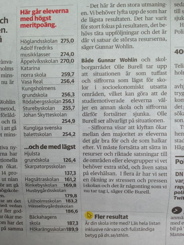 Rekordlaga svenska betyg