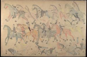 la-et-cm-battle-little-bighorn-stanford-red-horse-drawings-20151104