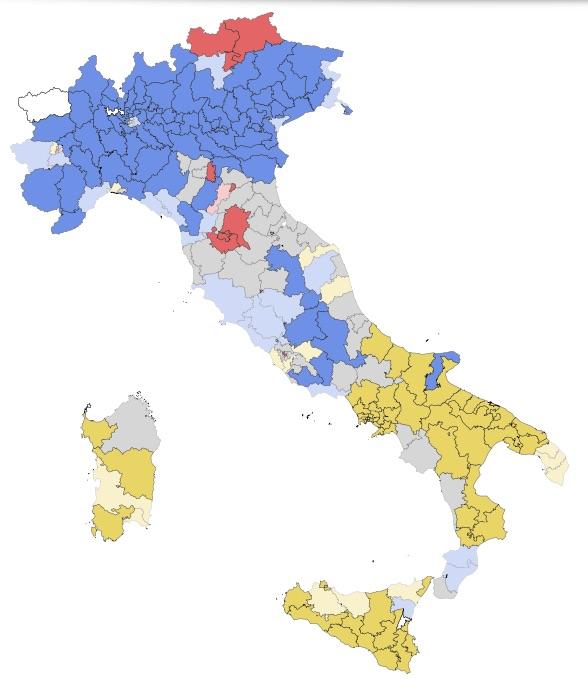 Italien ar mer enat an nagonsin